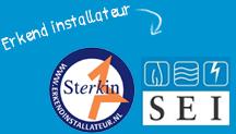 Sterkin en SEI erkend installateur